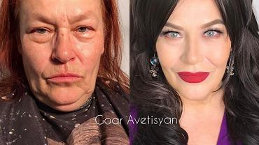 Goar Avetisyan to makijażystka, która może się pochwalić niesamowitymi umiejętnościami