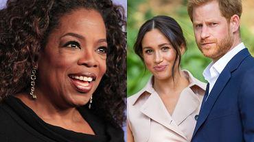 """Oprah Winfrey krytykowana za wywiad z księciem Harrym i Meghan Markle. """"Dobre pytania, ale mogłaby przestać przerywać"""""""