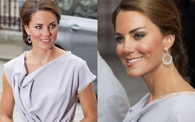 Kate Middleton Nowa Fryzura I Stara Sukienka Na Oficjalny Raut