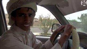 Mohammed Tuaiman w samochodzie