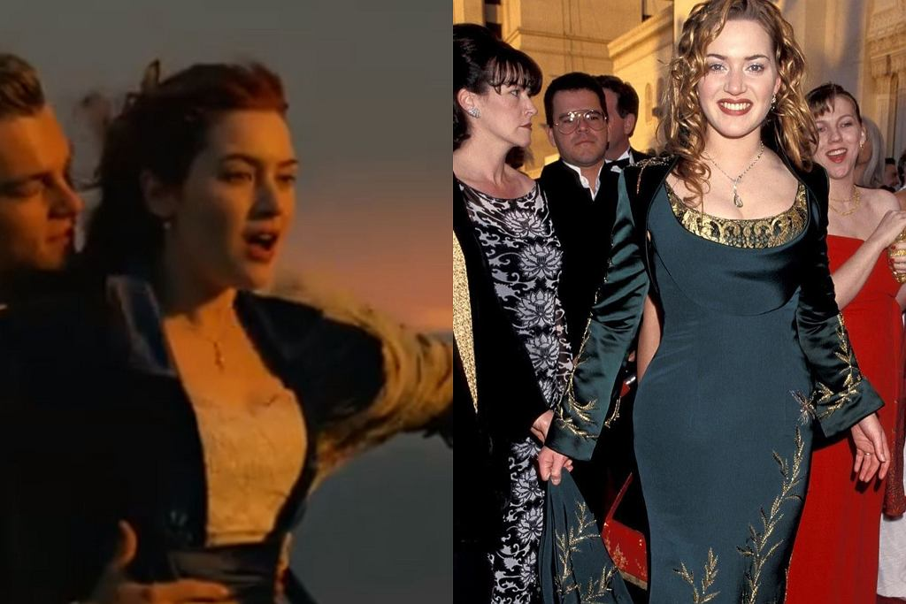 Kate Winslet w 'Titanicu'