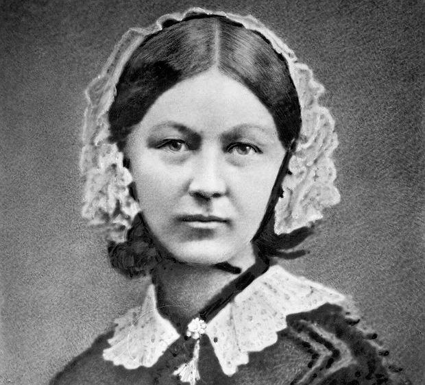 Angielka Florence Nightingale uważana za twórczynię nowoczesnego  pielęgniarstwa