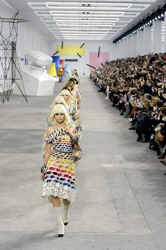 CHANEL_Ready to wear spring summer 2014 PARIS_fashion week_september_2013