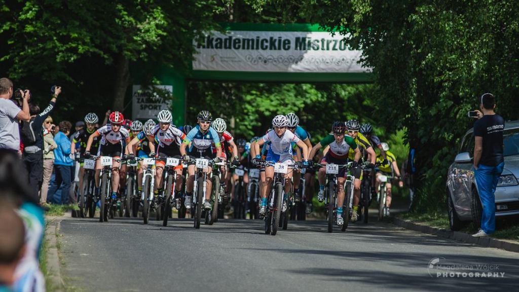 Start wyścigu kobiet - AMP Jelenia Góra