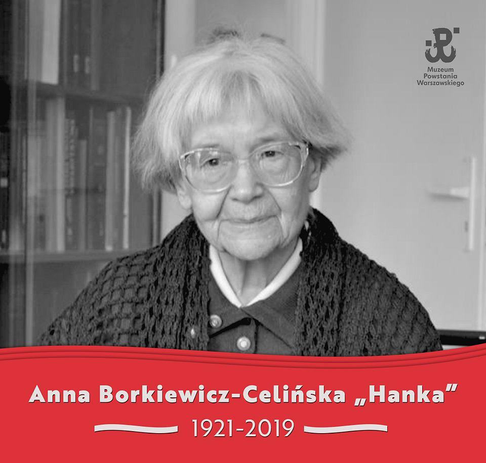 aaee77e4a7cae5 Nie żyje Anna Borkiewicz-Celińska. To ona zapisała historię batalionu