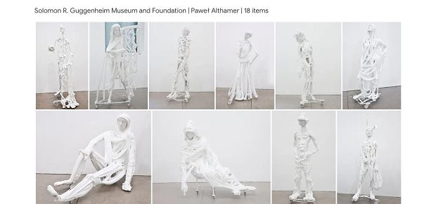 Dzieła Pawła Althamera w Muzeum Guggenheima w Nowym Jorku