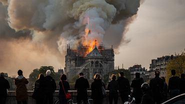 16 kwietnia 2019 roku doszło do pożaru katedry Notre Dame