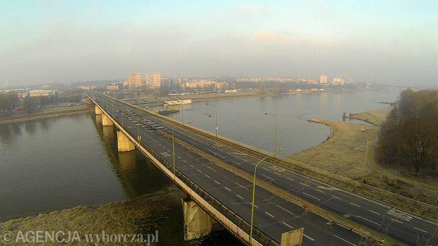 Spory firm o cenę malowania mostu Łazienkowskiego