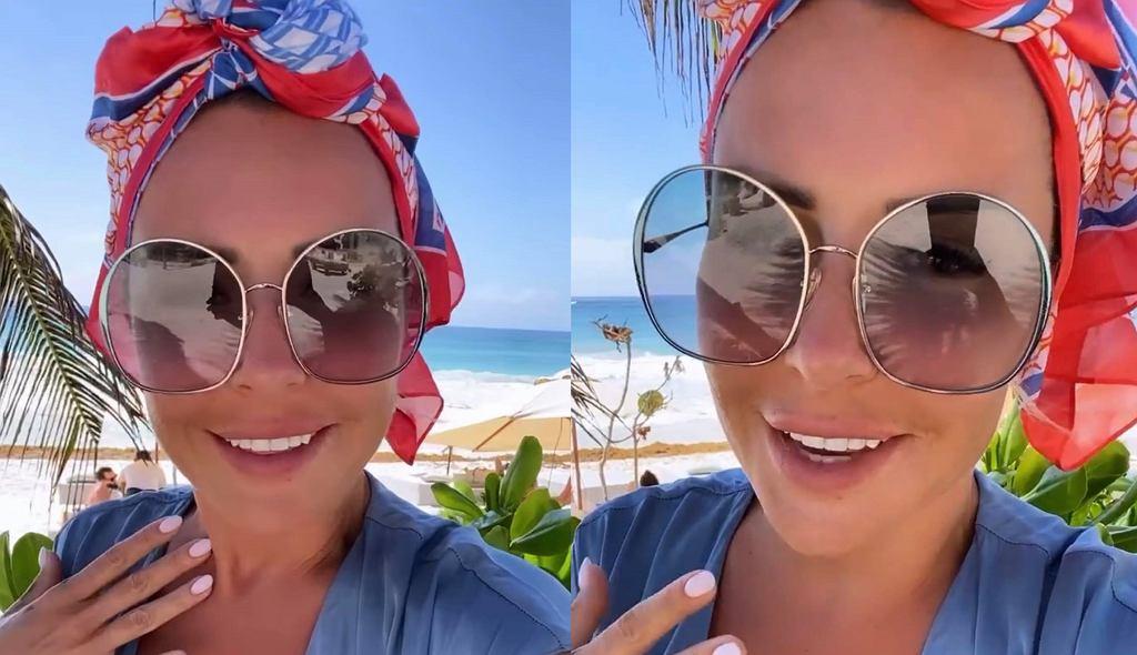 Blanka Lipińska zachwyciła zdjęciem w modnym bikini. Fanki dopytują o markę. Kupiła go w Tesco (zdjęcie ilustracujne)