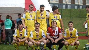Piłkarski Puchar Mediów w Gniewinie. Drużyna Mołdawii