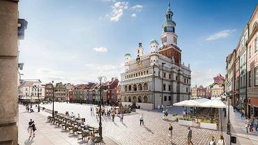 Unia Europejska wyłoży 30 mln zł na remont Starego Rynku w Poznaniu. Ale nie tylko na to