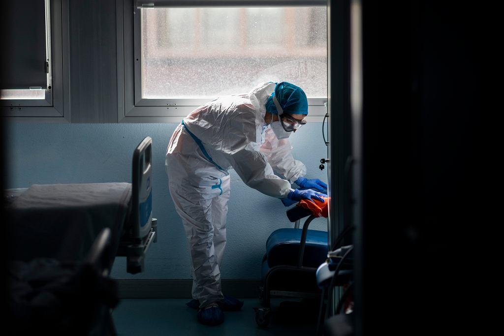 Koronawirus na świecie - Hiszpania. Brytyjski wariant koronawirusa o 30-70 proc. bardziej śmiertelny