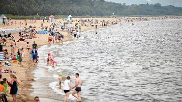 Plaża w Gdańsku