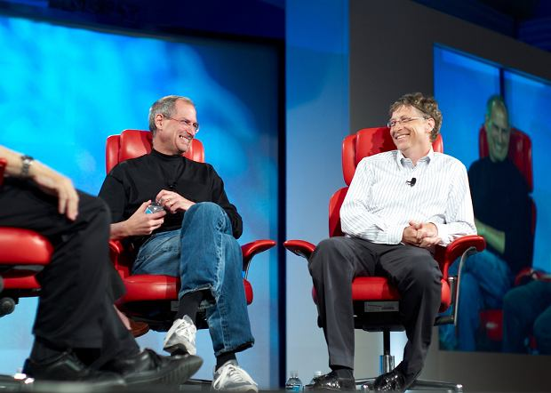 Steve Jobs i Bill Gates