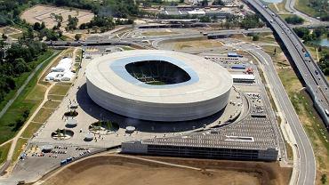 Stadion we Wrocławiu.
