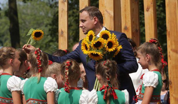 Prezydent Andrzej Duda w Jędrzejowie