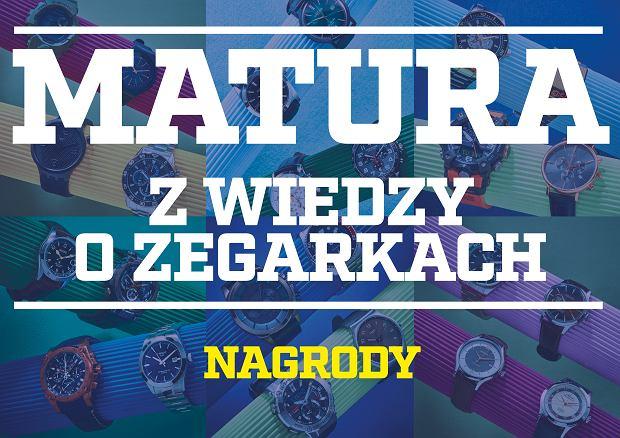Jakie zegarki można wygrać w Maturze z Wiedzy o Zegarkach?