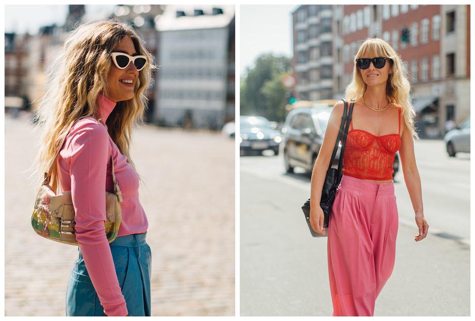 różowy kolor ubrań