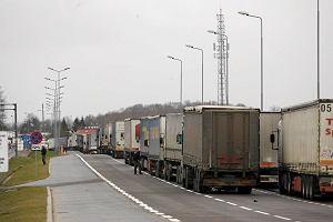Kosztowna rosyjsko-polska blokada tirowa