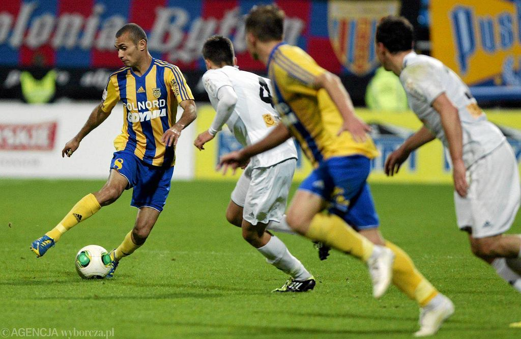 Marcus da Silva przy piłce