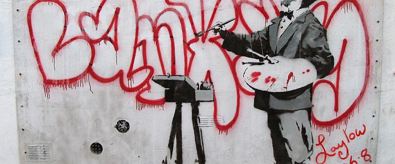 Były agent pokazuje, jak pracuje Banksy. Niepublikowane wcześniej zdjęcia