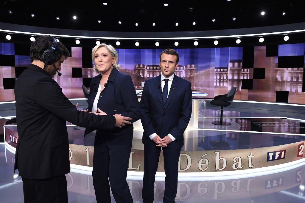 Debat Marine Le Pen - Emmanuel Macron