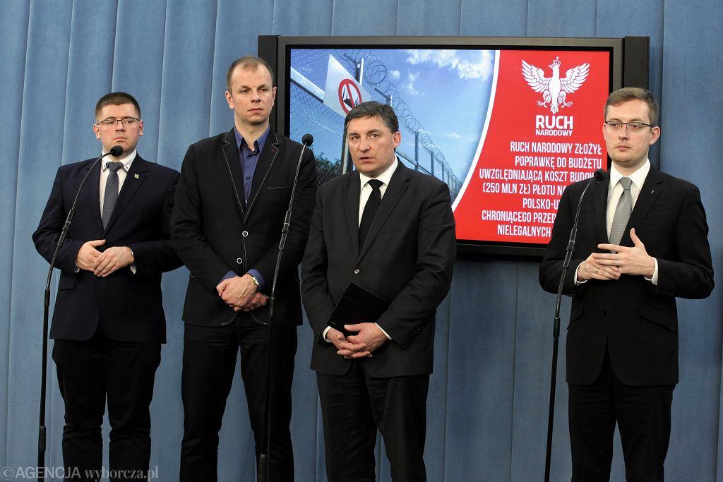 Konferencja posłów Kukiz'15