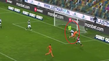 Kiks bramkarza Udinese i gol Cristiano Ronaldo