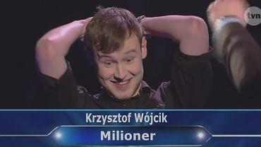 Krzysztof Wójcik, zwycięzca 'Milionerów'