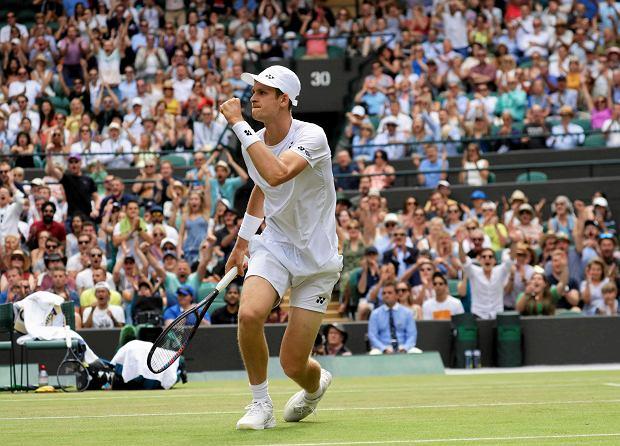 Hubert Hurkacz awansuje w rankingu po sukcesie na Wimbledonie