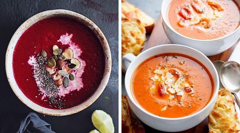 Zupy-kremy są przeważnie proste w przygotowaniu i sycące