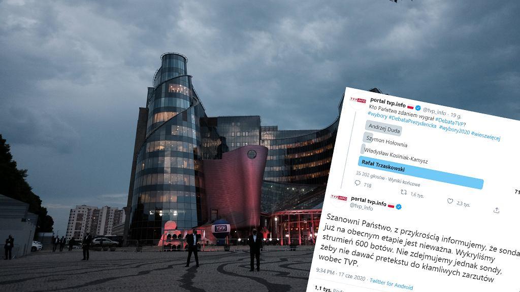 Sondaż TVP Info po debacie prezydenckiej. Czy mógł być sfałszowany