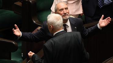 Głosowanie nad wotum nieufności dla ministra obrony w rządzie PiS Antoniego Macierewicza. 42. Posiedzenie Sejmu VIII Kadencji, Warszawa, 24 maja 2017