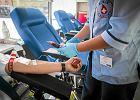 Uczestniczki Czarnego Protestu oddają krew w centrum krwiodawstwa