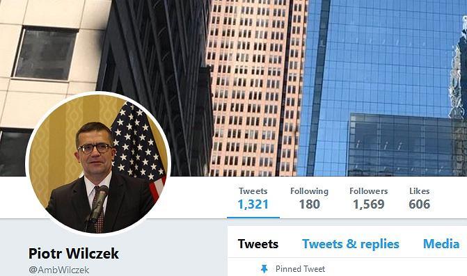 Piotr Wilczek, ambasador RP w Waszyngtonie