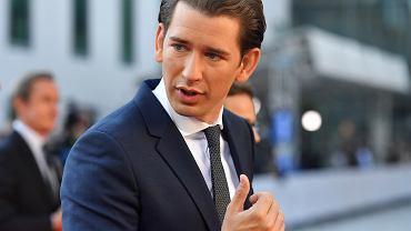 Kanclerz Austrii Sebastian Kurz.