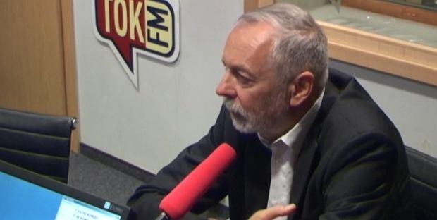 Rafał Grupiński w studiu radia TOK FM