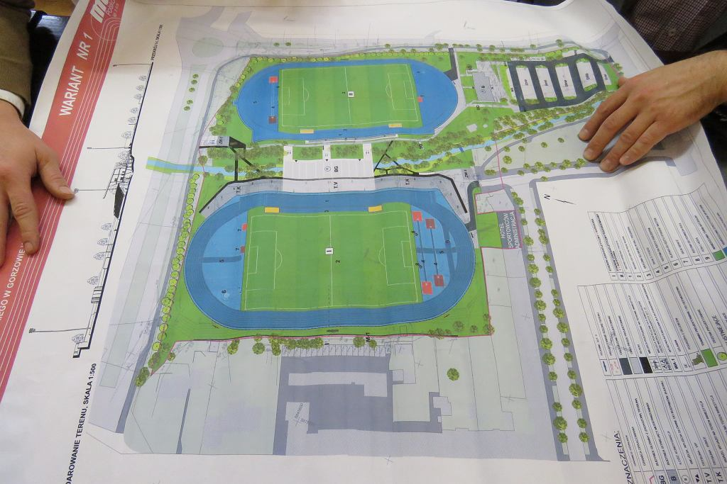 Plany modernizacji stadionu
