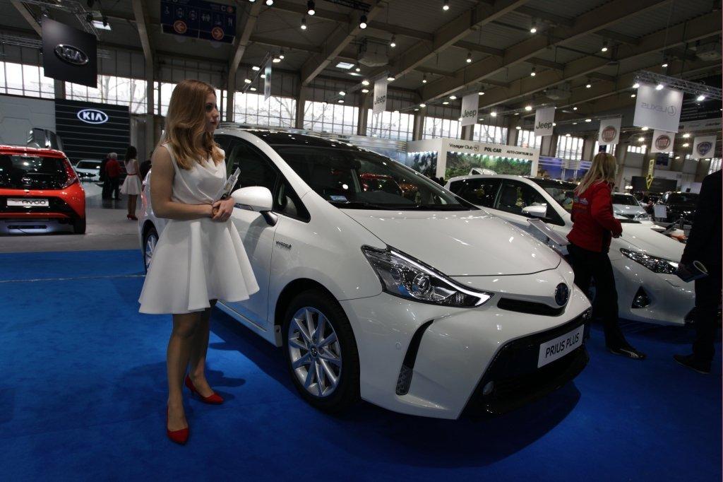 Stoisko Toyoty na Motor Show Poznań