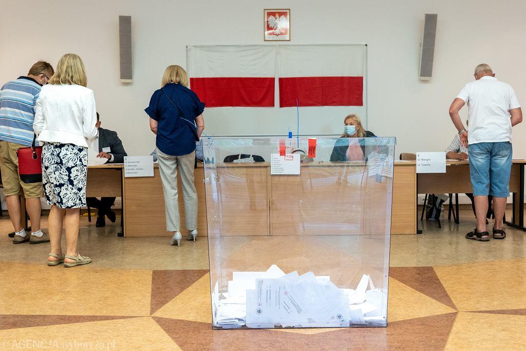 12.07.2020, Olsztyn, II tura wyborów prezydenckich