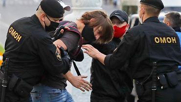 Protest w Mińsku