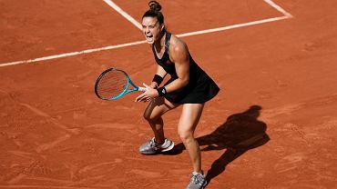 Maria Sakkari zagra z Igą Świątek w ćwierćfinale Roland Garros