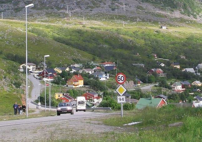 Miejscowość Hammerfest w norweskim regionie Finnmark (zdj. ilustracyjne)