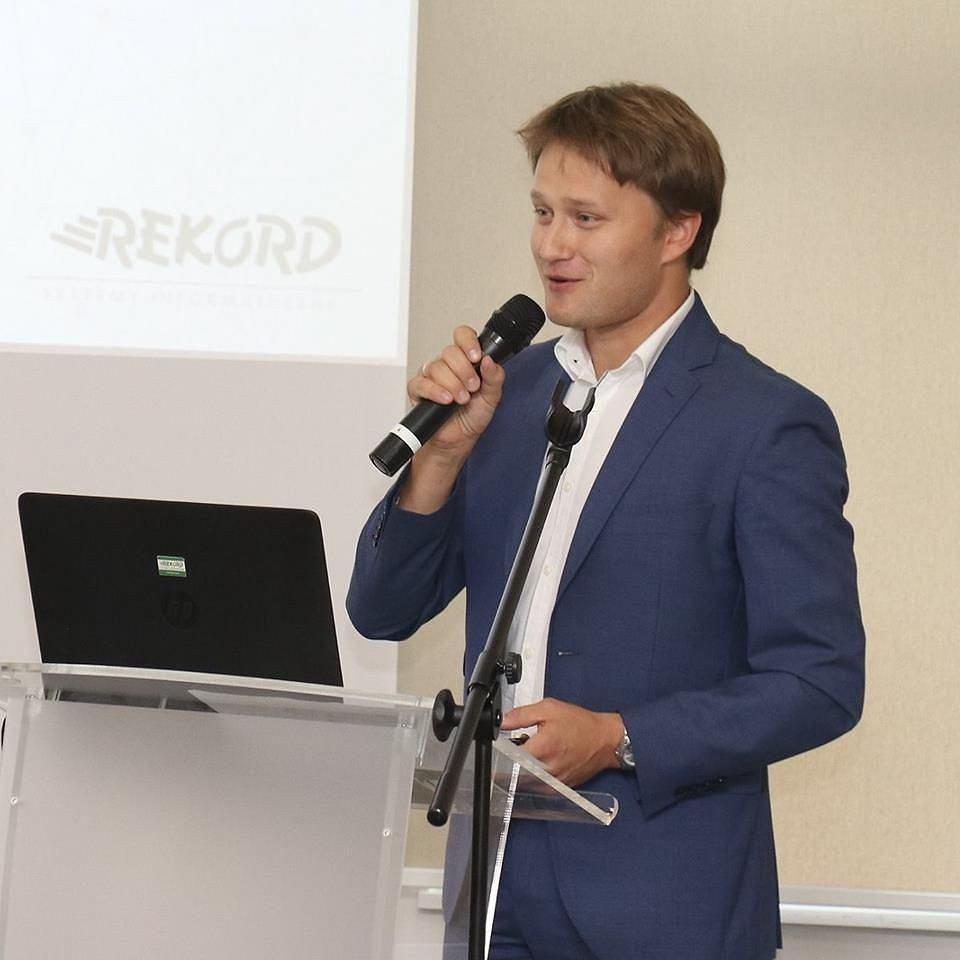 Piotr Szymura, dyrektor ds. rozwoju oprogramowania w firmie Rekord Systemy Informatyczne w Bielsku-Białej