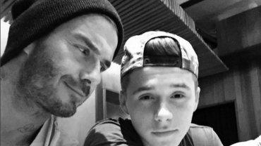 David i Brooklyn Beckham