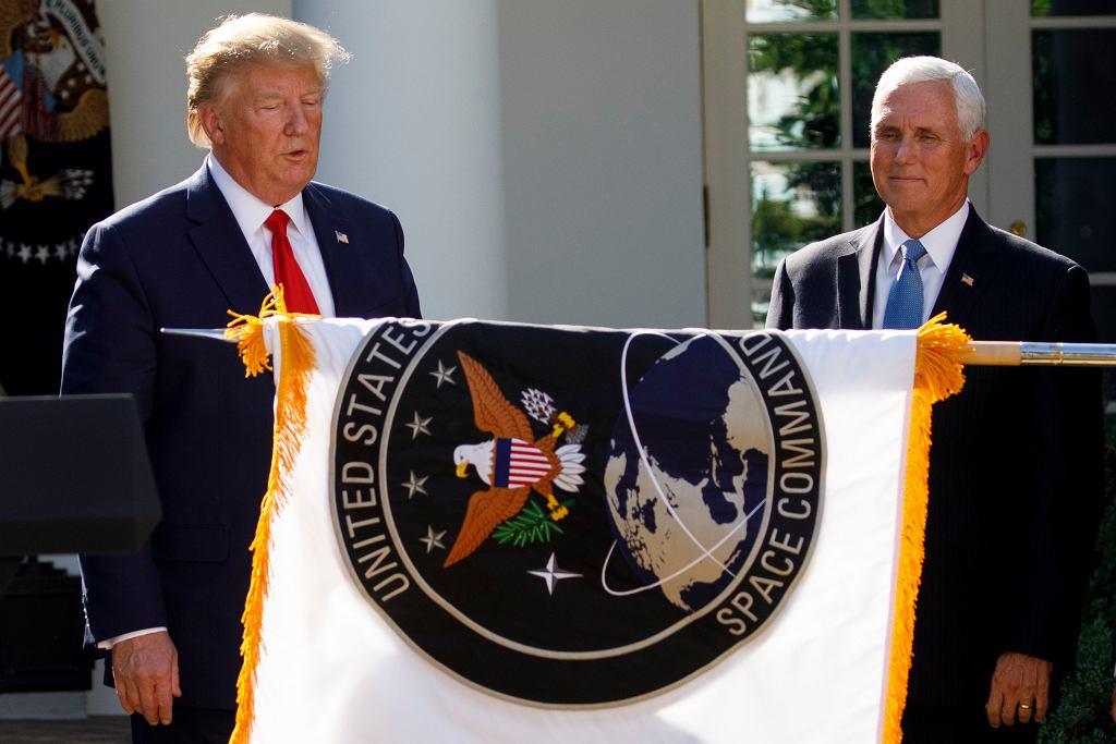Prezydent Donald Trump powołał dowództwo wojsk kosmicznych