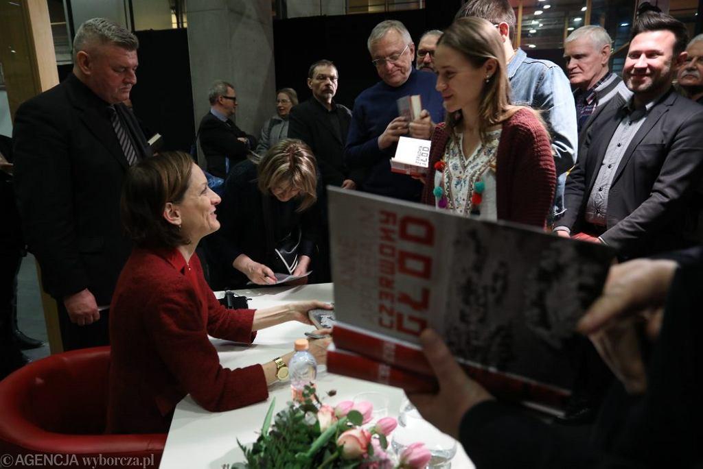 Spotkanie z Anne Applebaum w Centrum Premier Czerska 8/10