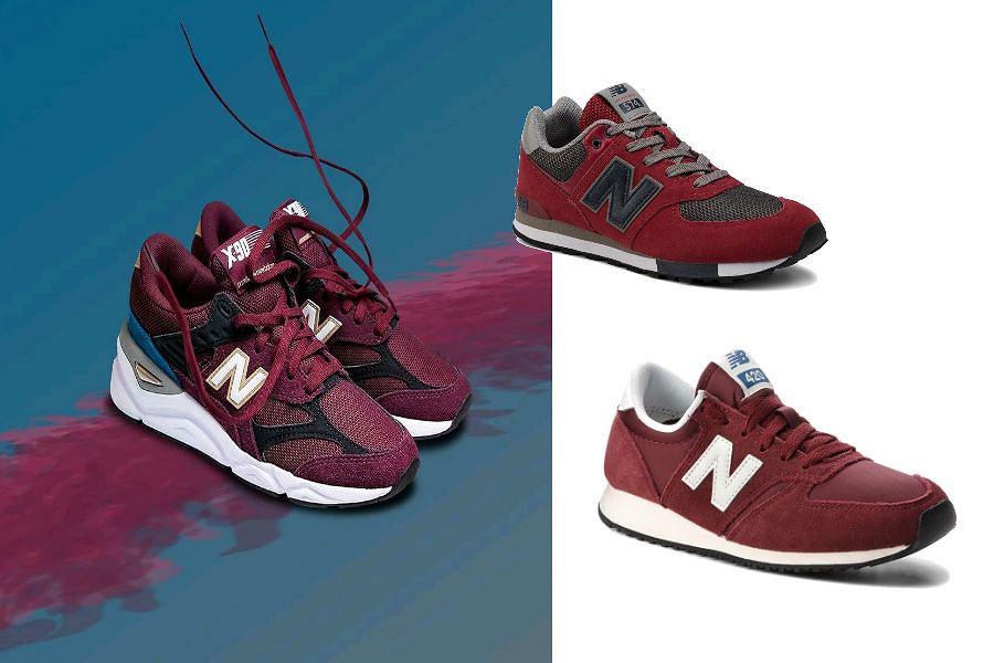 New Balance damskie czerwone