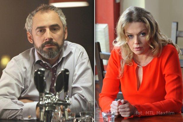 M jak miłość, odcinek 1078,  Werner (Jacek Kopczyński), Anna (Tamara Arciuch)