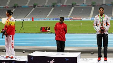 Ruth Jebet słyszy, że nie dostanie złotego medalu